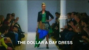The Dollar a Day Dress.