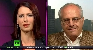 Abby Martin and Richard Wolff.