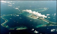 Diego Garcia. US military base.
