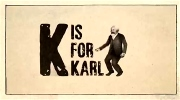 K is for Karl.